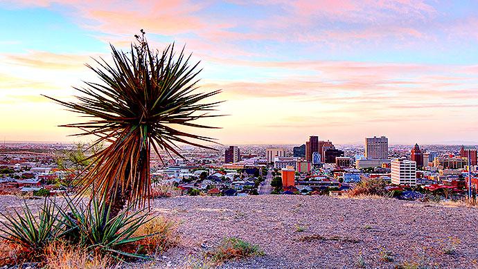 Our Hotel Location at Paso Del Norte