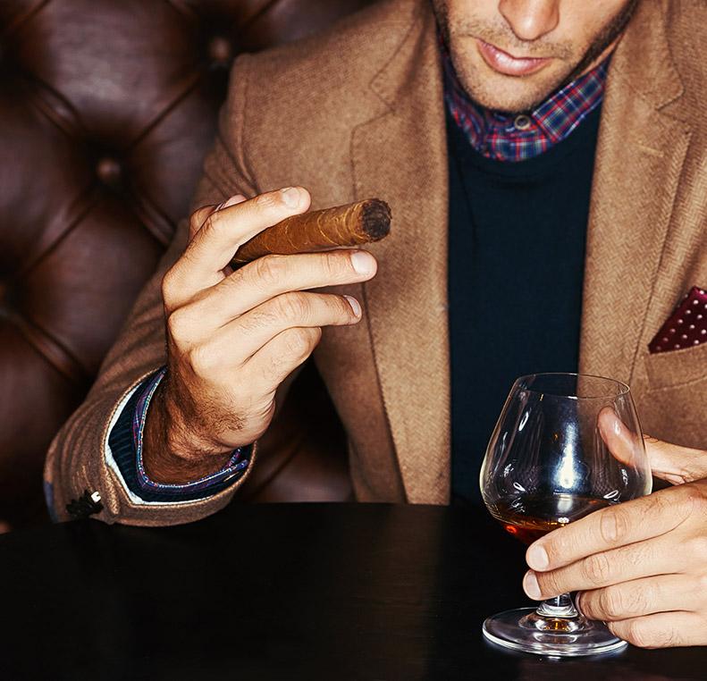 Cigar Lounge - Black Jack