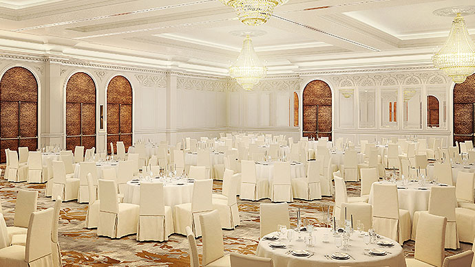 Wedding Venue John J. Pershing Ballroom